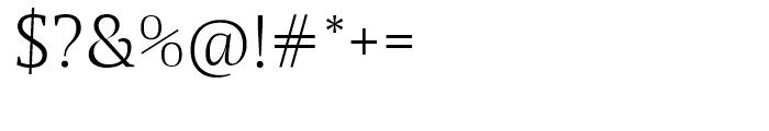 Maga Light Font OTHER CHARS