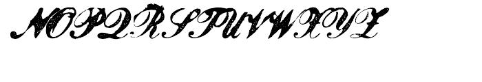 Magesta Script Bold Font UPPERCASE