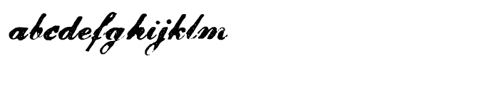 Magesta Script Bold Font LOWERCASE