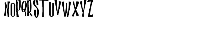 Magic Twanger NF Regular Font UPPERCASE