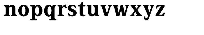 Magica Bold Font LOWERCASE