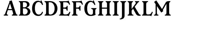 Magica Medium Font UPPERCASE