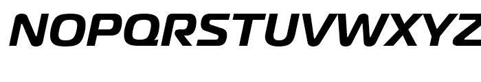 Magistral Bold Italic Font UPPERCASE