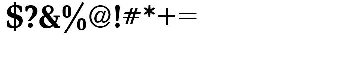 Magna Medium Font OTHER CHARS