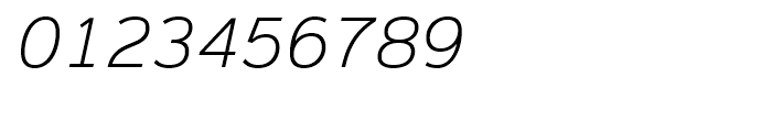 Magnum Sans Extra Light Oblique Font OTHER CHARS