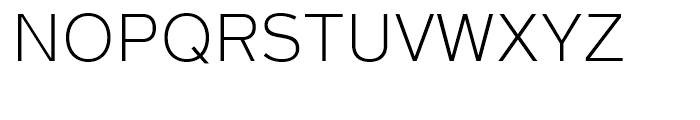 Magnum Sans Extra Light Font UPPERCASE