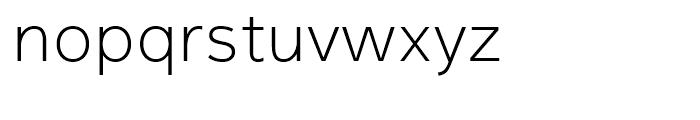 Magnum Sans Extra Light Font LOWERCASE