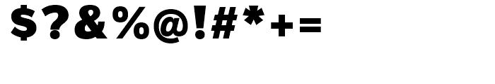 Magnum Sans Pro Alfa Black Font OTHER CHARS