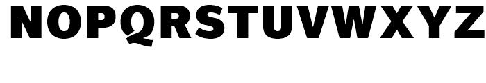 Magnum Sans Pro Alfa Black Font UPPERCASE