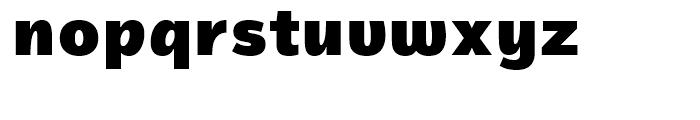 Magnum Sans Pro Alfa Black Font LOWERCASE