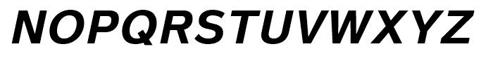 Magnum Sans Pro Bold Oblique Font UPPERCASE