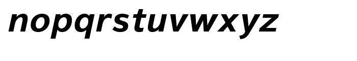 Magnum Sans Pro Bold Oblique Font LOWERCASE
