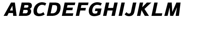 Magnum Sans Pro Extra Bold Italic Font UPPERCASE