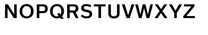 Magnum Sans Pro Semi Bold Font UPPERCASE