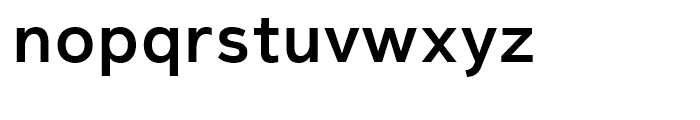 Magnum Sans Pro Semi Bold Font LOWERCASE