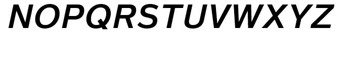 Magnum Sans Semi Bold Oblique Font UPPERCASE