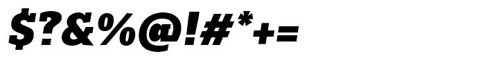 Majora Pro Black Italic Font OTHER CHARS