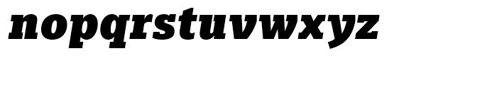 Majora Pro Black Italic Font LOWERCASE