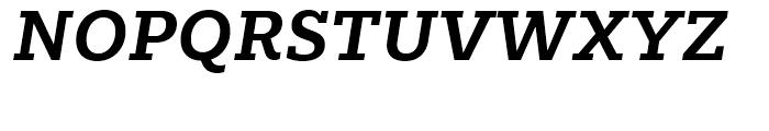 Majora Pro Bold Italic Font UPPERCASE
