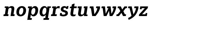Majora Pro Bold Italic Font LOWERCASE