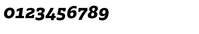 Majora Pro ExtraBold Italic Font OTHER CHARS