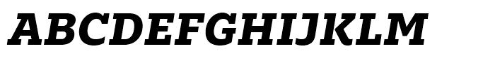 Majora Pro ExtraBold Italic Font UPPERCASE