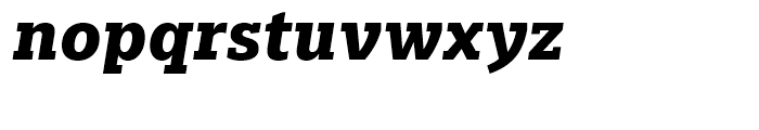 Majora Pro ExtraBold Italic Font LOWERCASE