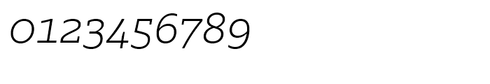 Majora Pro ExtraLight Italic Font OTHER CHARS