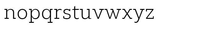 Majora Pro ExtraLight Font LOWERCASE