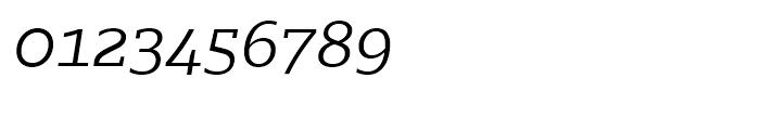 Majora Pro Light Italic Font OTHER CHARS