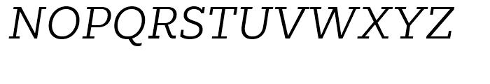 Majora Pro Light Italic Font UPPERCASE