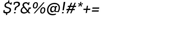 Majora Pro Regular Italic Font OTHER CHARS
