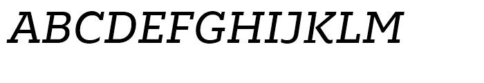 Majora Pro Regular Italic Font UPPERCASE