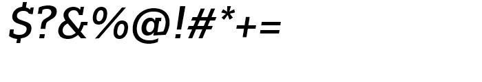 Majora Pro SemiBold Italic Font OTHER CHARS