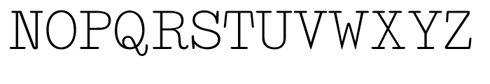Makina Original Regular Font UPPERCASE