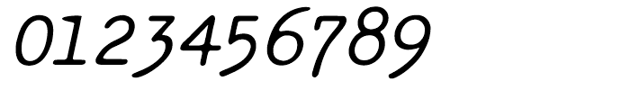Makina Renovate Italic Regular Font OTHER CHARS