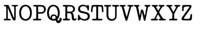 Makina Renovate Regular Font UPPERCASE