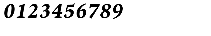 Malabar Bold Italic Font OTHER CHARS