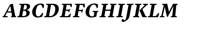 Malabar Bold Italic Font UPPERCASE