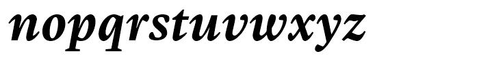 Malabar Bold Italic Font LOWERCASE