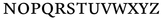 Malabar Regular Font UPPERCASE