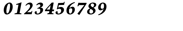 Malabar eText Bold Italic Font OTHER CHARS