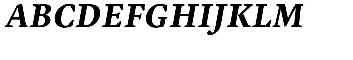 Malabar eText Bold Italic Font UPPERCASE