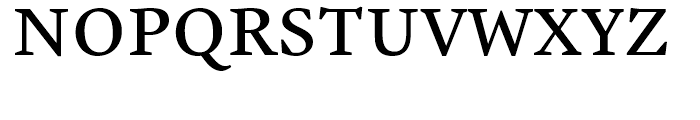 Malabar eText Regular Font UPPERCASE