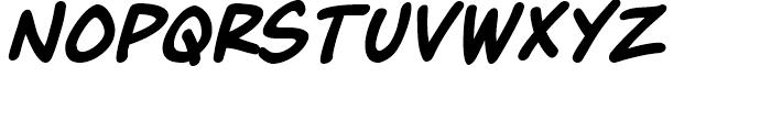 Maladroit Italic Font LOWERCASE