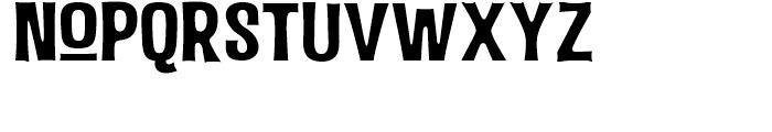 Malamondo Expanded Regular Font LOWERCASE