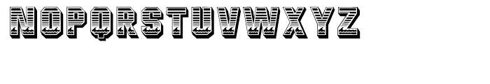 Malibu Regular Font LOWERCASE