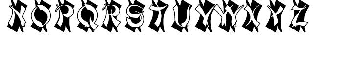 Mandarin Initials Standard D Font UPPERCASE