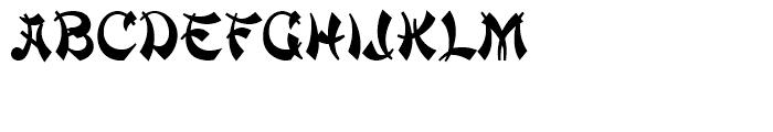 Mandarin Initials Standard D Font LOWERCASE