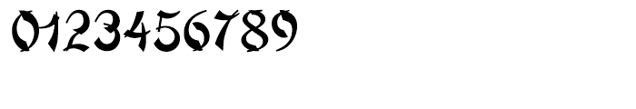 Mandarin Regular Font OTHER CHARS